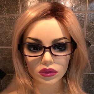 "COACH 🤎 Rx ""Bernice"" Purple Eyeglass Frame"